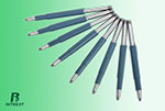 Plastic coated shaft
